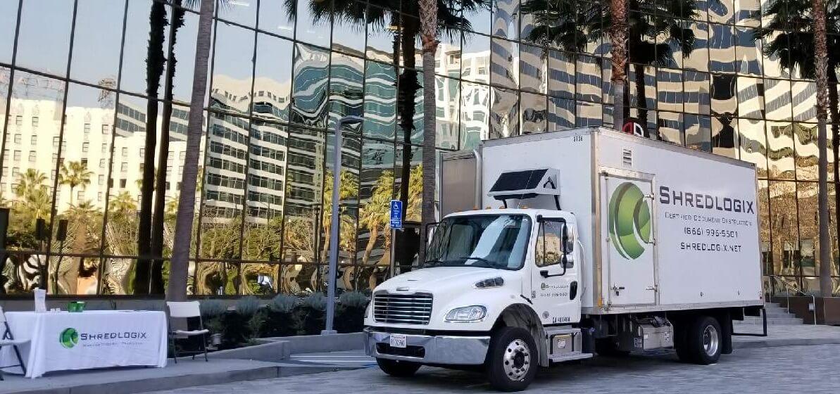Shredlogix Shredding Truck